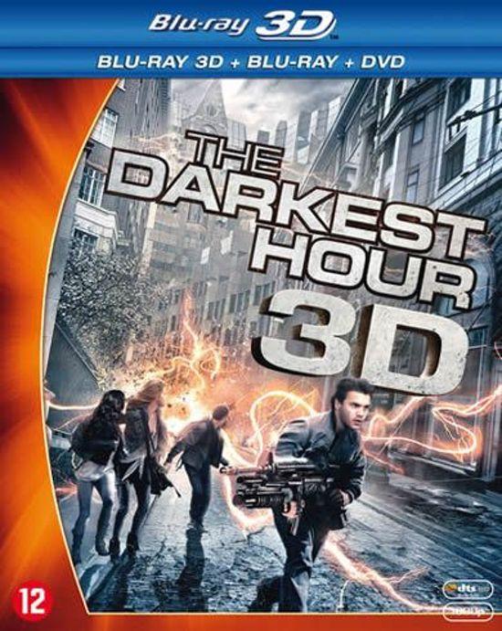 DVD cover van The Darkest Hour (3D Blu-ray)