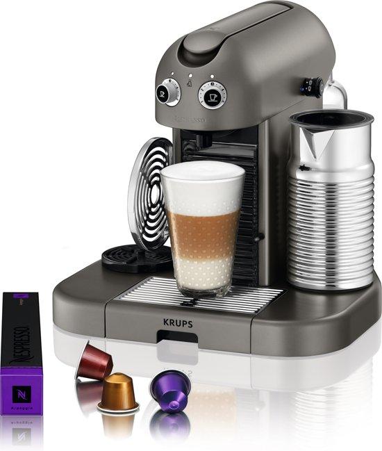 Nespresso Krups Gran Maestria XN8105 - Grijs