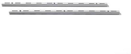 Duraline F Rail.Bol Com Duraline F Rail Dubbel Mat Verzilverd 200 Cm