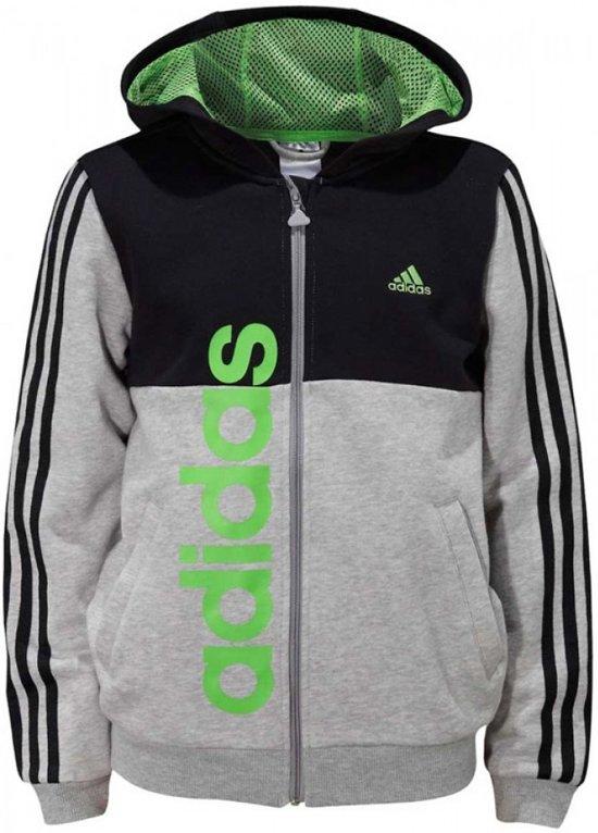 Adidas Essentials 3 Stripes Hoody - 116