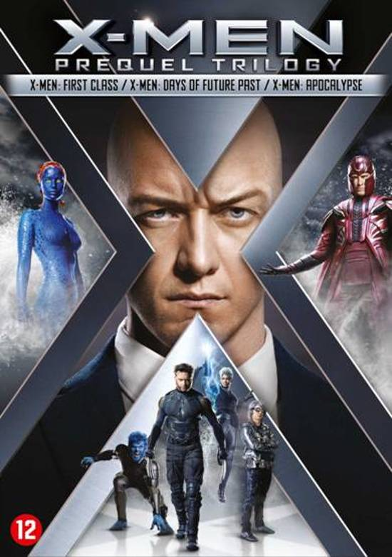 DVD cover van X-MEN Prequel Trilogy (4 t/m 6)