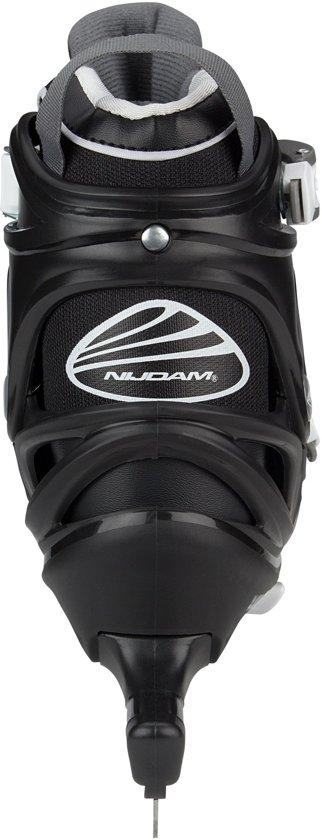 Nijdam - Norenschaats verstelbaar - 3400 - Zwart - 38-41