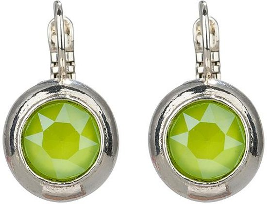 Camps & Camps oorbel-1A829CLI Crystal Lime
