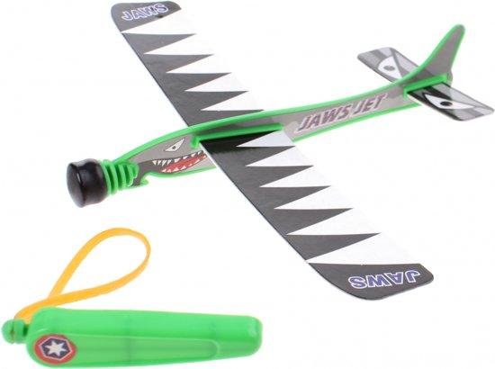 Goki Katapult Vliegtuig Jaws Jet