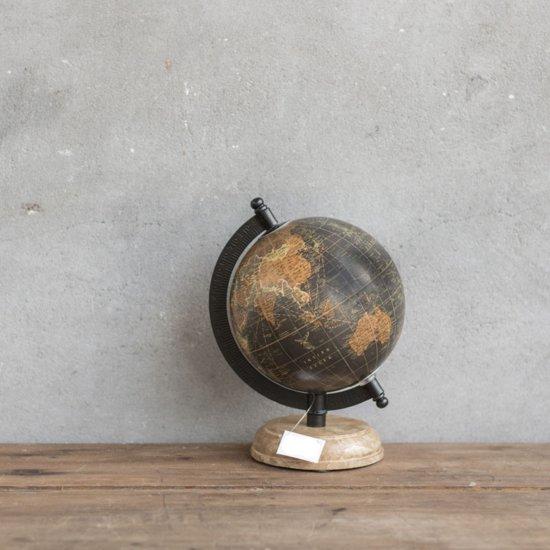 Betere bol.com | Wereldbol globe antieke look Op Voet 20 cm CY-62