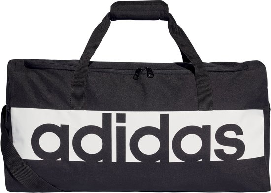 adidas Linear Performance Teambag M Sporttas Unisex - Black/White/White