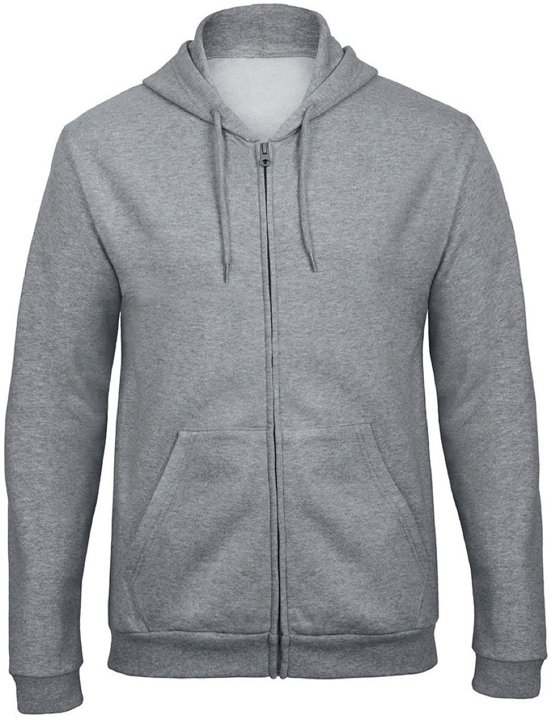 Senvi Hoodie Full Zip Maat XL (Kleur Grijs)