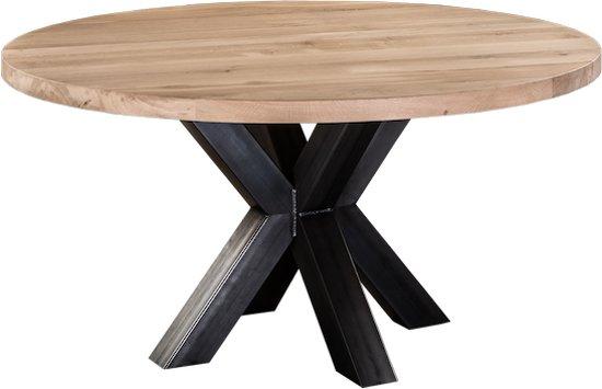 Tafel Rond 140.Bol Com Table Du Sud Ronde Eiken Xx Tafel 140