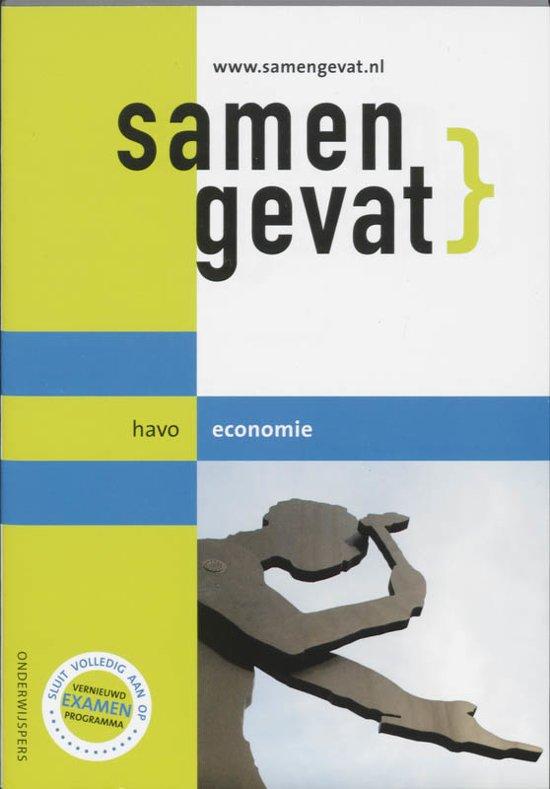 Boek cover Samengevat - HAVO -  Economie van J.P.M. Blaas (Paperback)