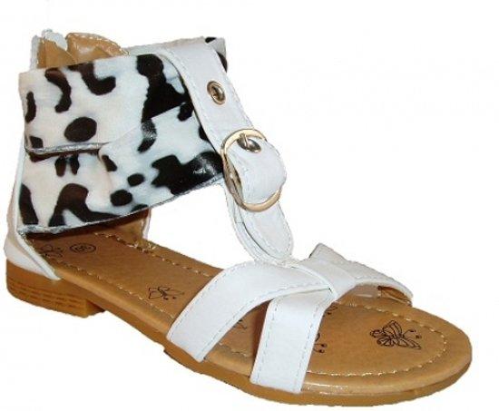 Redjin sandalet panterprint wit maat 28
