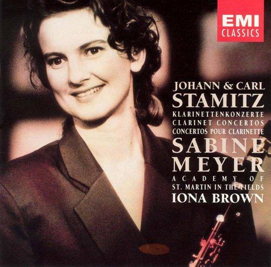 Johann & Carl Stamitz: Clarinet Concertos / Sabine Meyer