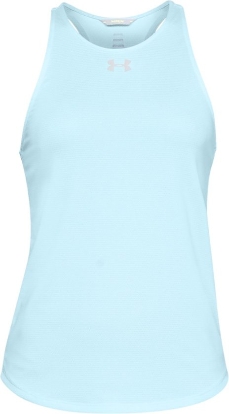 Under Armour Qualifier Tank Sporttop Dames - Coded Blue - Maat L
