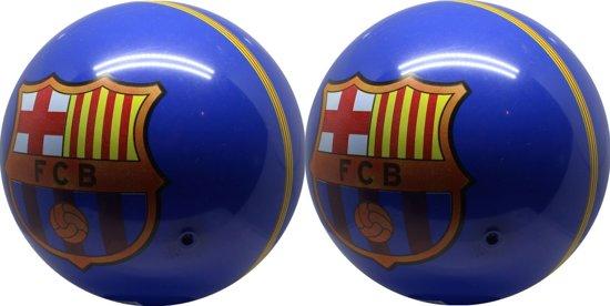 Fc Barcelona - Voetbal Pvc - 2 stuks - Maat 5 - Blauw