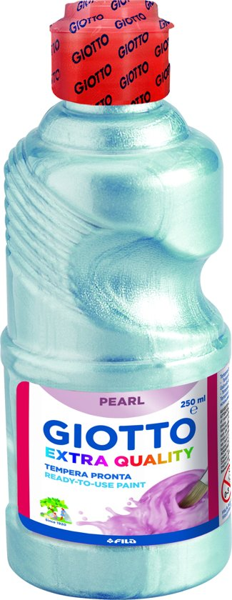 Giotto Bottle 250 ml Pearl Paint Blue