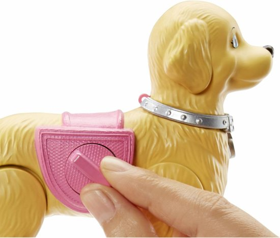Barbie Wandelen & Trainen Puppy - Barbiepop