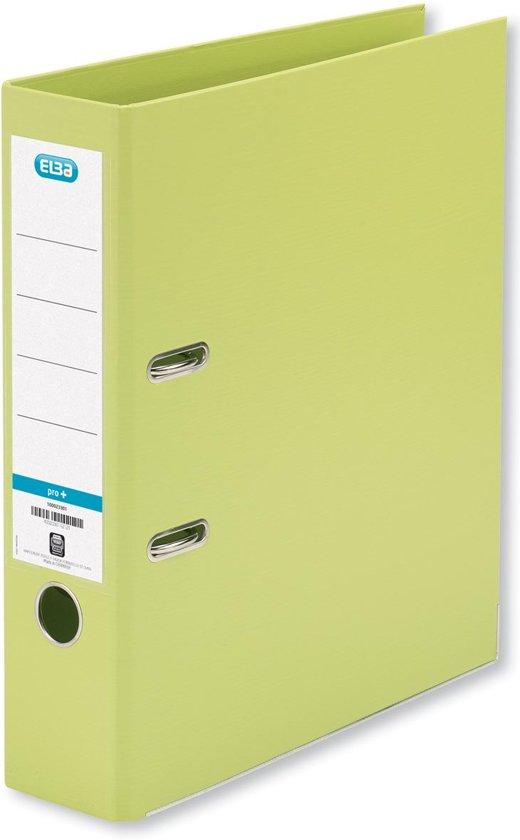18x Elba ordner Smart Pro+,  lichtgroen, rug van 8cm