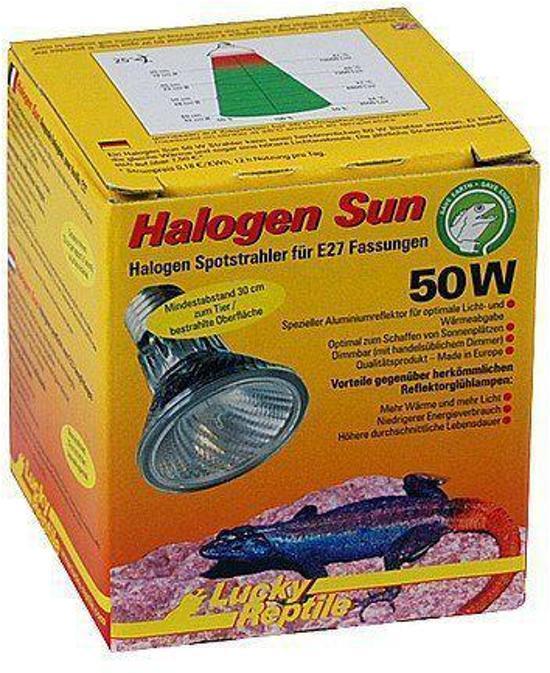 Lucky Reptile Halogen Sun - 50W