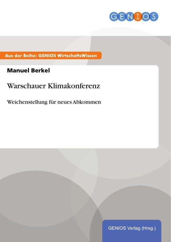 Warschauer Klimakonferenz