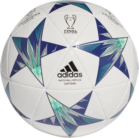| adidas VoetbalKinderen en volwassenen witblauw