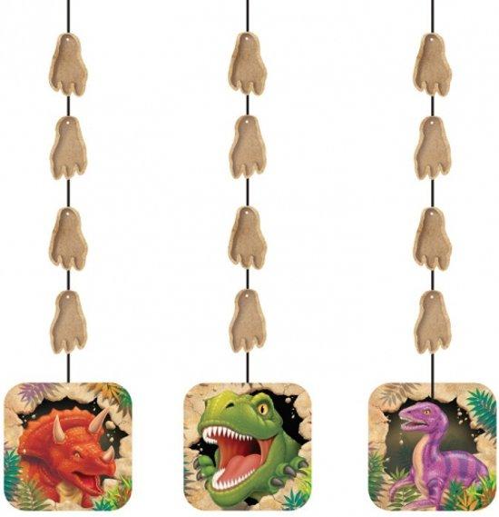 Dinosaurus hangdecoratie 3 stuks for Hangdecoratie raam
