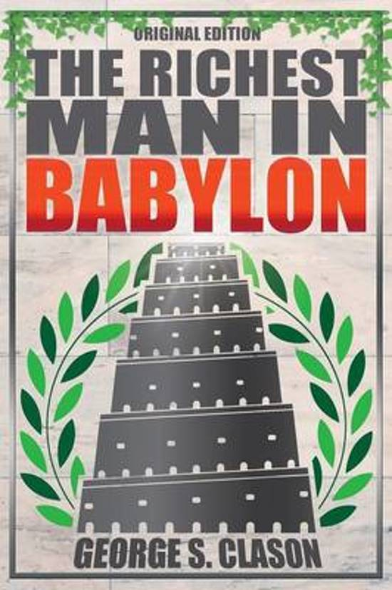 Boek cover Richest Man in Babylon - Original Edition van George S Clason (Paperback)