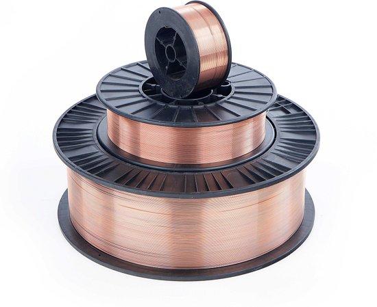 5 Kg 0,6 mm CO - 1 Lasdraad op 200 mm Spoel