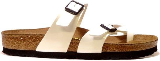 Sandale Birkenstock « Mayari » Brun / Blanc NWjaZJW