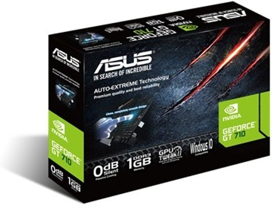 ASUS 710-1-SL GeForce GT 710 1GB GDDR3