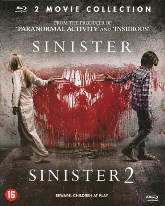 DVD cover van Sinister 1 & 2 (Blu-ray)