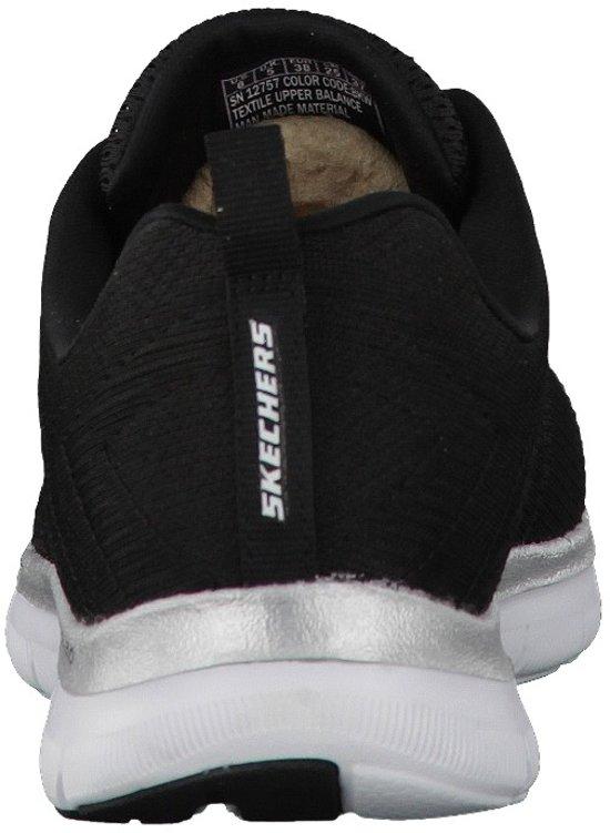 Sportschoenen Dames Sneakers Vrouwen Break 0 Appeal 37 2 Skechers Maat Flex wit Free Zwart 8x0qpwSAY