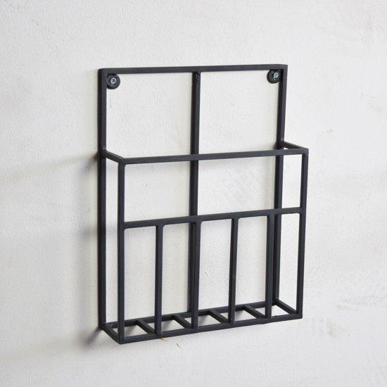 LOFT42 - Maggy - Tijdschriftenrek - Small - Zwart - Metaal