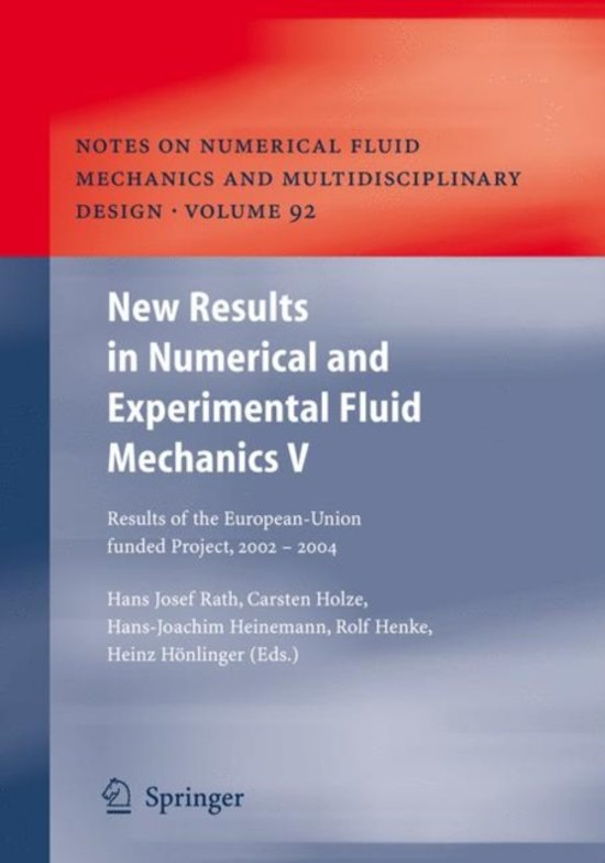 New Results in Numerical and Experimental Fluid Mechanics V