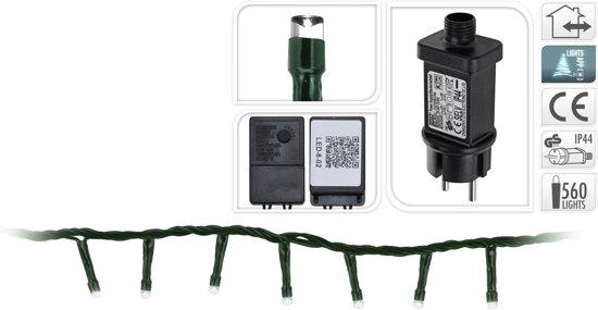 Bol Com Micro Cluster Verlichting 11m 560 Led Lampjes Warm Wit