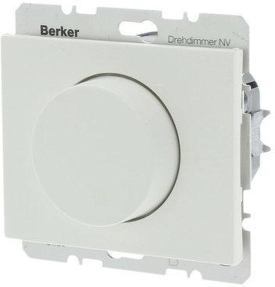 BERKER K1 DIMMER INBOUW 500W HALO DRUK WISSEL POLARWIT