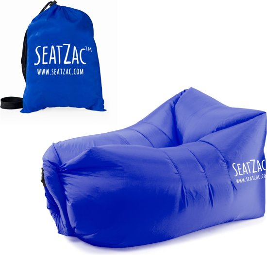 SeatZac Chill Bag zitzak Donker Blauw