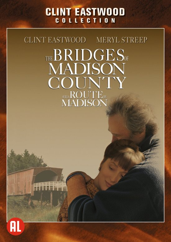 DVD cover van The Bridges Of Madison County
