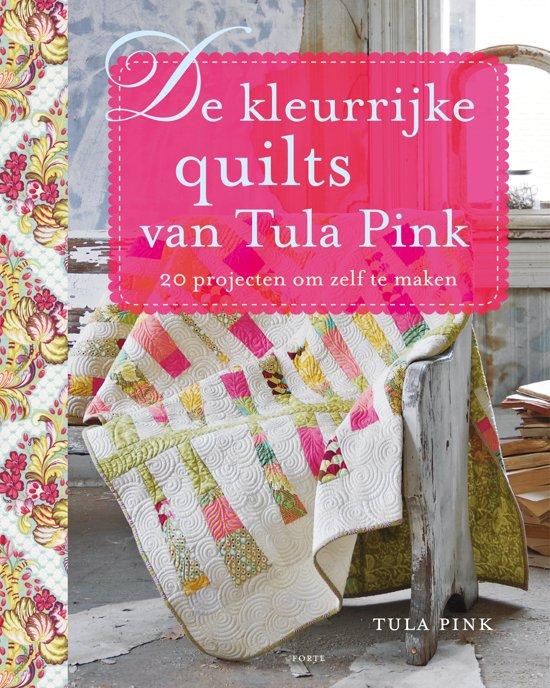 Boek cover De kleurrijke quilts van Tula Pink van Tula Pink (Paperback)