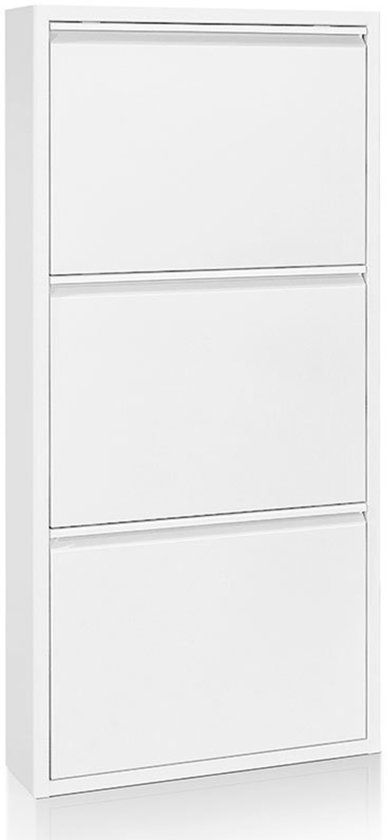 Kave Home Schoencontainer - wit - 3 lades