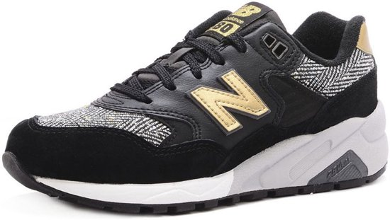 | New Balance 580 Zwart Gouden Dames sneakers