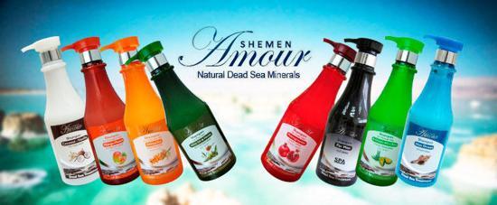 Duindoorn Shampoo met Dode zeezout mineralen voor droog gekleurd haar Amour 750 ml
