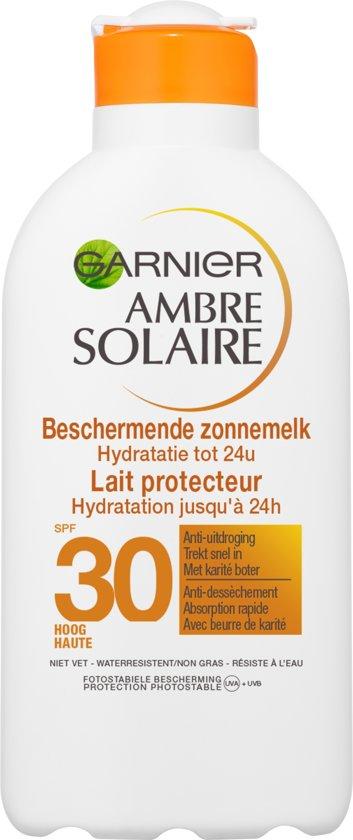 Garnier Ambre Solaire SPF 30 Zonnebrandcrème - 200 ml - Hydraterend