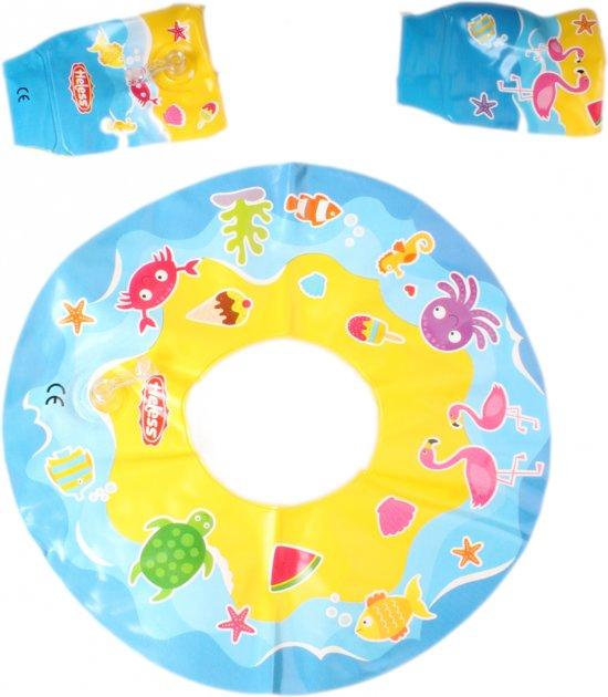 Poppen Zwemring met Zwembandjes