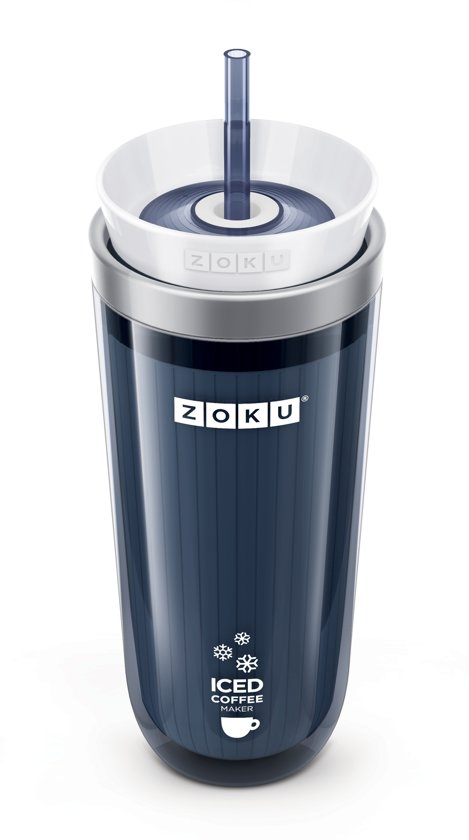 Zoku Ice Koffiemaker - Grijs