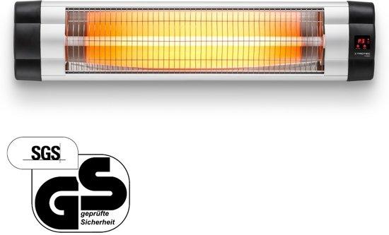 Trotec IR 2550 S Terrasverwarmer - elektrisch - hangend - verwarmt tot 25m² - max. 2500 W