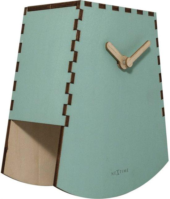 NeXtime Rocky Tafelklok 19,5 x 19,5 cm