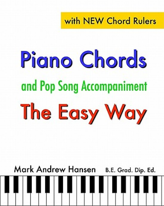 Bol Piano Chords Pop Song Accompaniment The Easy Way Mark