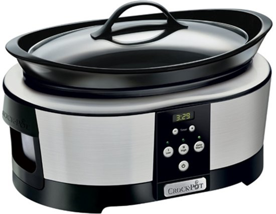 CrockPot CR605 Next Gen Slowcooker - 5,7 l