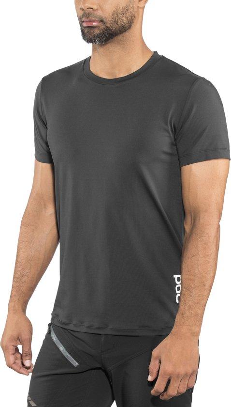 POC Resistance Enduro Light T-shirt Heren, carbon black Maat L