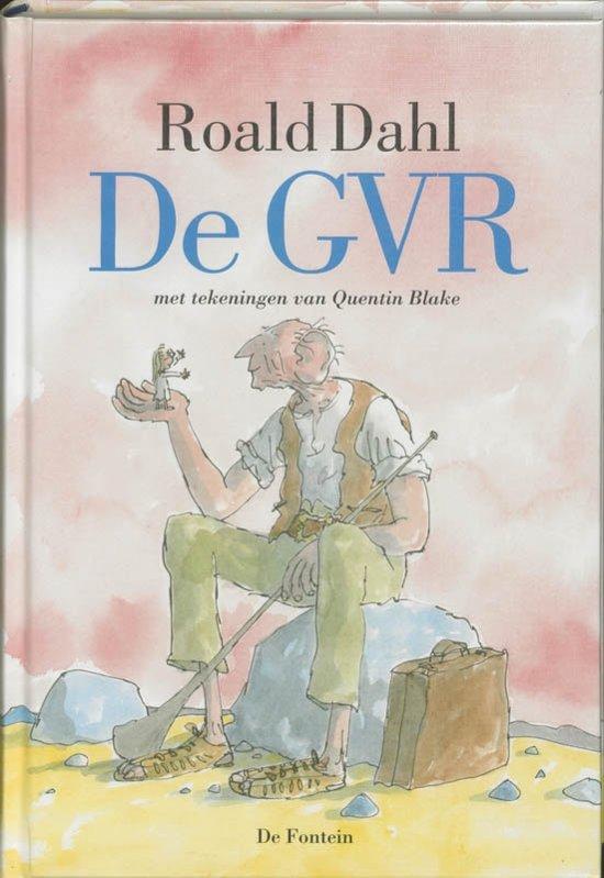 Boek cover De GVR (luxe editie) van Roald Dahl (Hardcover)