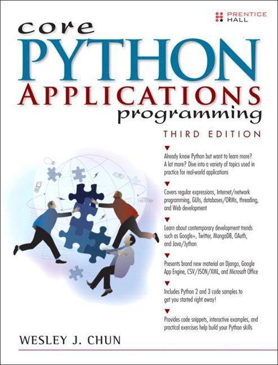 bol com | Core Python Applications Programming, Wesley J  Chun